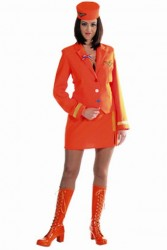 Stewardess Oranje / Holland