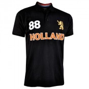 Holland polo zwart