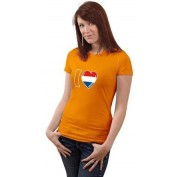 oranje shirt I love Holland dames